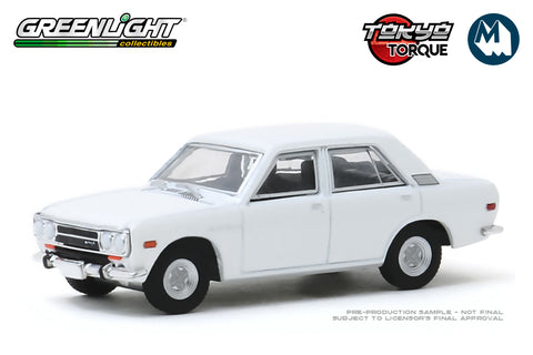 1972 Datsun 510 4-Door Sedan - White