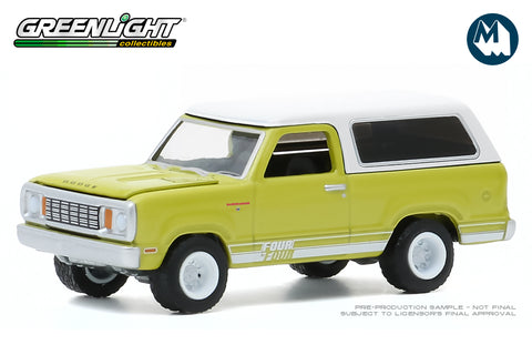 1977 Dodge Macho Ramcharger 4x4 with Four By Four Stripe Kit