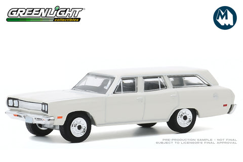 1969 Plymouth Satellite Station Wagon (Alpine White)