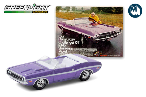 "1970 Dodge Challenger R/T Convertible ""Our Plum Crazy Challenger R/T Is No Shrinking Violet"""