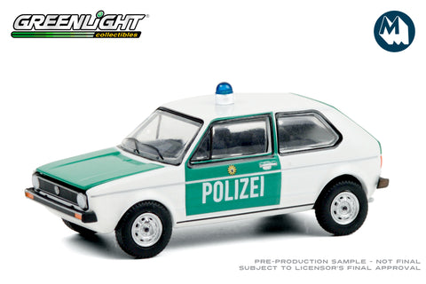 1974 Volkswagen Golf Mk1 / Germany Polizei