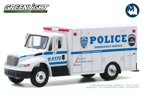2013 International Durastar - New York City Police Department (NYPD) Emergency Service