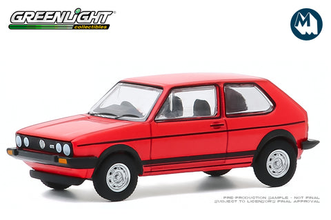 1982 Volkswagen Golf GTI (Red)