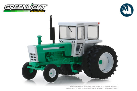 1972 Tractor with Dual Rear Wheels - White and Green