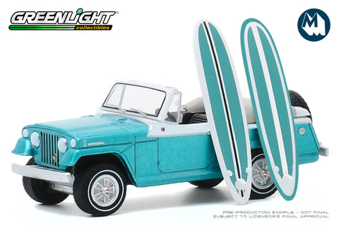 1968 Kaiser Jeep Jeepster with Surfboards