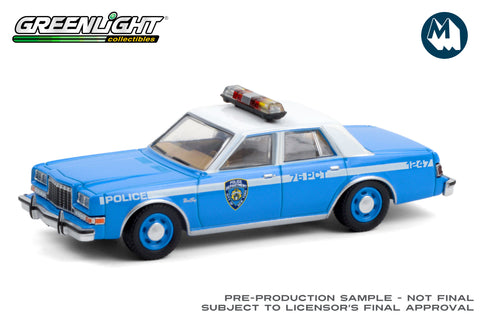 1982 Plymouth Gran Fury / New York City Police Dept (NYPD)