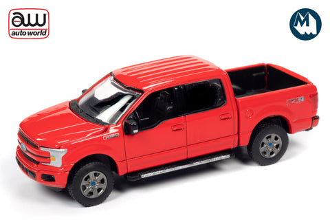 2018 Ford F-150 Lariat (Race Red)