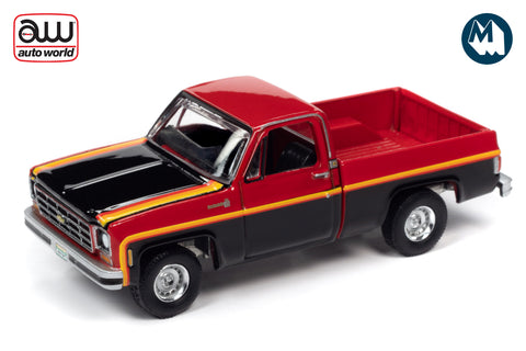 1979 Chevy C10 Scottsdale sport (Red & Black)