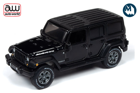 2018 Jeep Wrangler (Gloss Black with Flat Black)