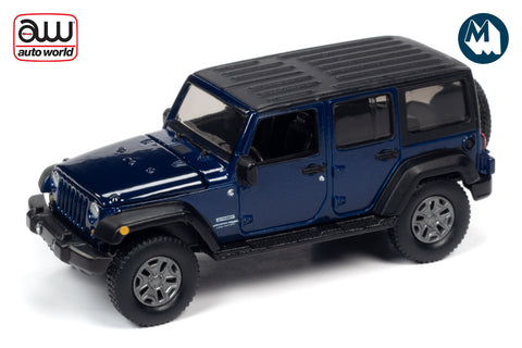 2018 Jeep Wrangler JK Unlimited Sport (Purple Metallic with Flat Black)