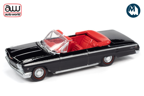 1962 Chevrolet Impala SS Convertible (Gloss Black)
