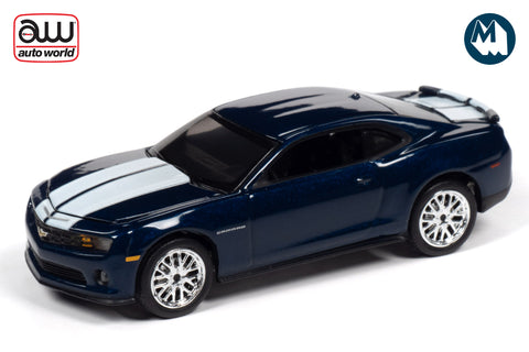 2011 Chevrolet Camaro RS/SS (Imperial Blue w/White Stripes)