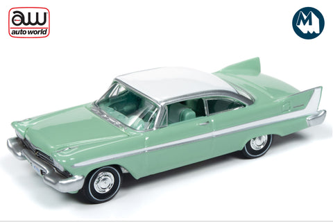 1958 Plymouth Belvedere (Misty Green with Iceberg White Roof)