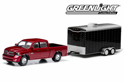 2014 Ram 1500 Sport and Enclosed Car Hauler