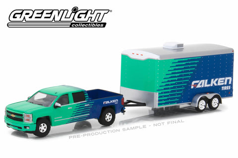 2015 Chevy Silverado Falken Tire and Falken Tire Racing Trailer