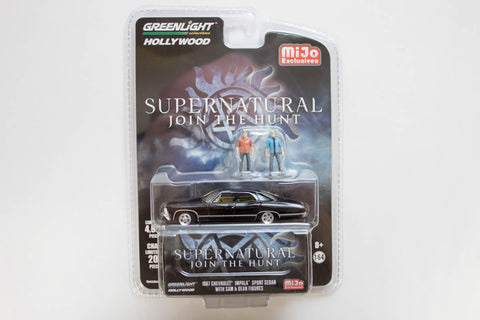 Supernatural / 1967 Chevrolet Impala Sport Sedan with Sam & Dean Figures