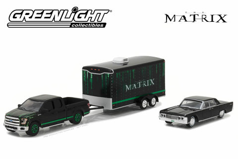 The Matrix (1999) - 2015 Ford F-150 / 1965 Lincoln Continental / Enclosed Car Hauler