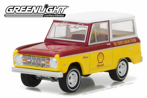 1967 Ford Bronco - Shell Oil