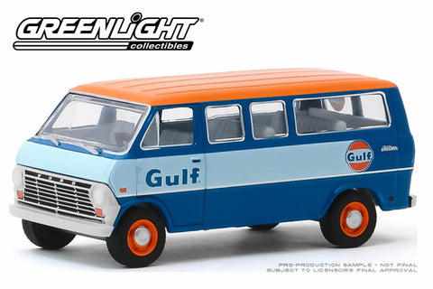 1968 Ford Club Wagon / Gulf Oil