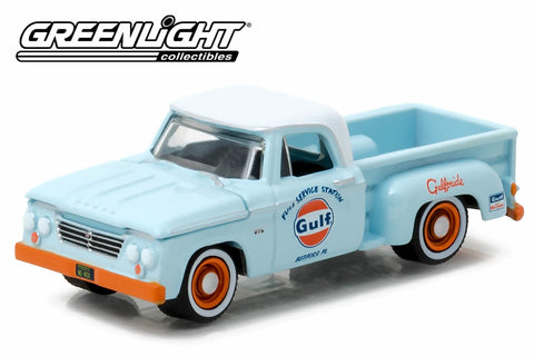 1963 Dodge D-100 Stepside - Gulf Oil
