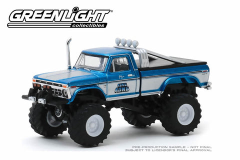 King Kong / 1975 Ford F-250 (Original Blue) Monster Truck