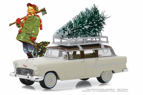 1955 Chevrolet Two-Ten Townsman with Christmas Tree Accessory