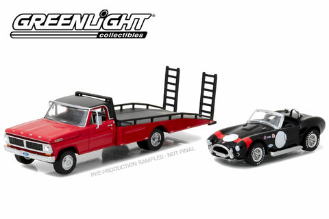 1970 Ford F-350 Ramp Truck with Shelby Cobra