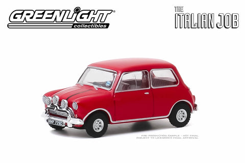 The Italian Job 1967 Austin Mini Cooper S 1275 Mki Red With Black L Modelmatic