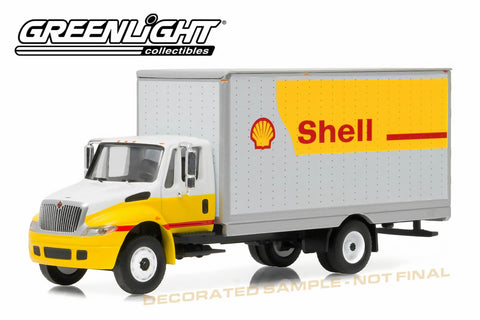 2013 Shell Oil International Durastar 4400 Box Van