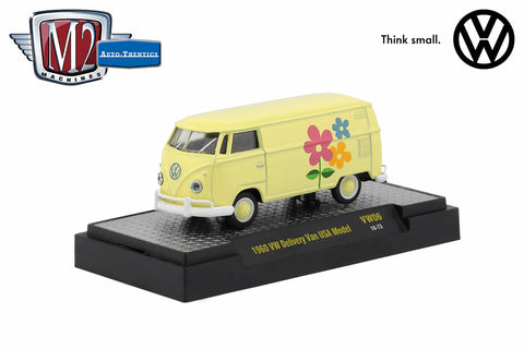 1960 VW Delivery Van U.S.A. Model (Flowers)