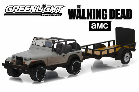 The Walking Dead / Michonne's Jeep Wrangler YJ and Utility Trailer