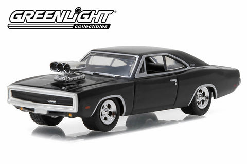 1970 Dodge Charger with Blown Engine - Black