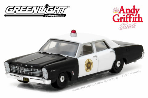The Andy Griffith Show / 1967 Ford Custom Police