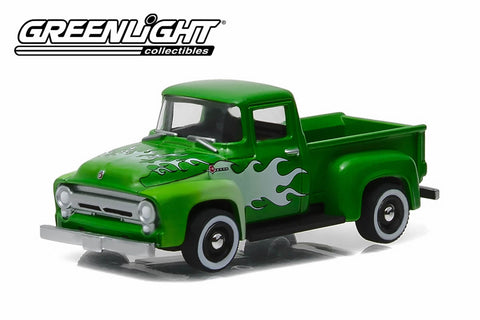 1956 Ford F-100 with Flames