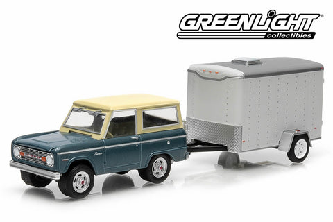 1967 Ford Bronco and Small Cargo Trailer