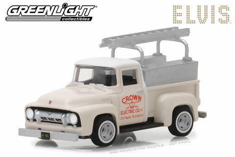 Elvis Presley / 1954 Ford F-100 Truck Crown Electric Company
