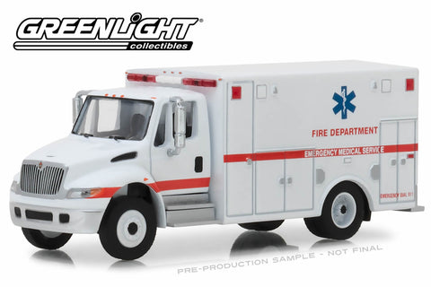 2013 International Durastar Ambulance - Fire Department Emergency Medical Services ALS Unit