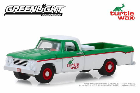 1962 Dodge D-100 - Turtle Wax