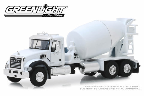 2019 Mack Granite Cement Mixer - White