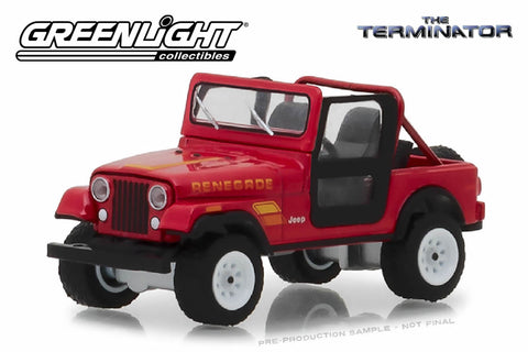 The Terminator / Sarah Connor's 1983 Jeep CJ-7 Renegade