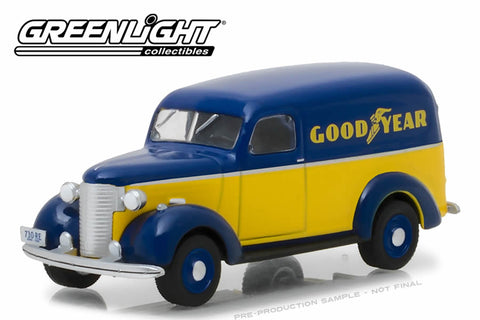 1939 Chevrolet Panel Truck / Goodyear Tires