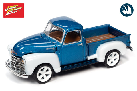1950 Chevrolet Truck (Custom Metallic Blue & White)
