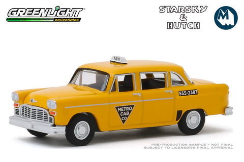 Starsky and Hutch / 1968 Checker Taxi - Metro Cab Co.