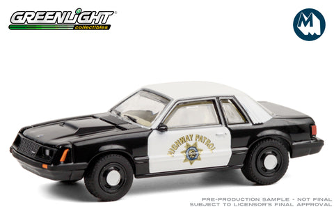 1982 Ford Mustang SSP / California Highway Patrol
