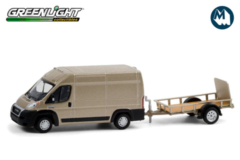 2019 Ram ProMaster 2500 Cargo High Roof and Utility Trailer