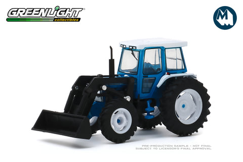 1982 Ford 5610 Tractor with Front Loader - Blue and Black
