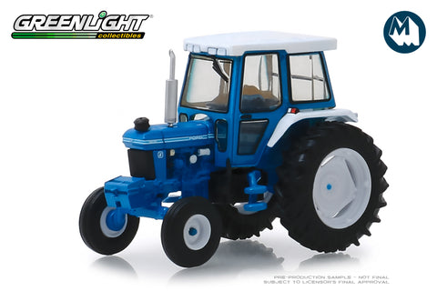 1984 Ford 5610 Tractor - Blue and Black with Enclosed Cab