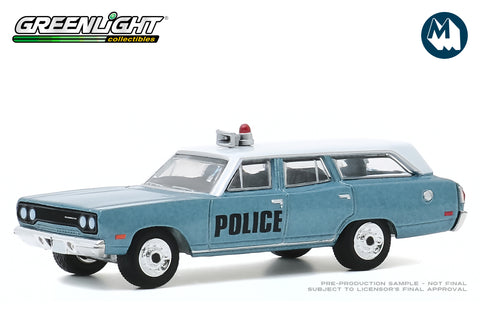 1970 Plymouth Belvedere Emergency Wagon (Police Pursuit)