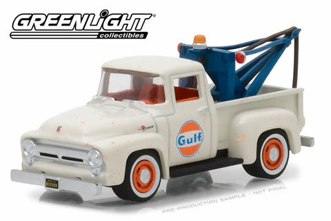 1956 Ford F-100 with Drop-in Tow Hook / Gulf Oil