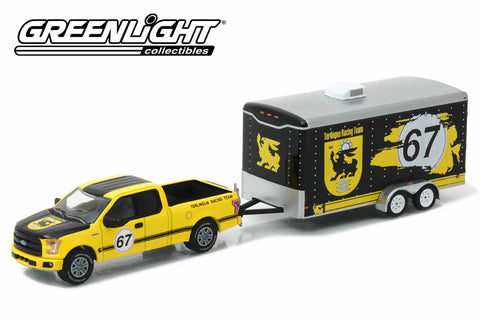 2015 Ford F-150 and Terlingua Racing Trailer